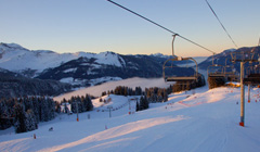 View from the chairlifts
